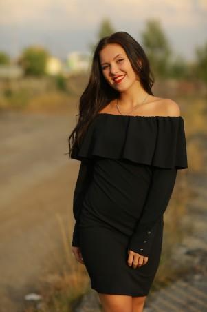 BIBI-Brand: Платье Памела  чёрный - главное фото