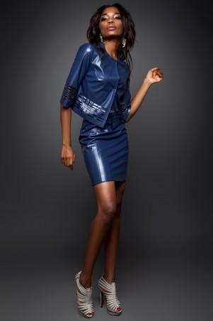 Jadone Fashion: Костюм (жакет и юбка) Оникс М-3 - главное фото