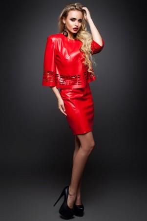 Jadone Fashion: Костюм (жакет и юбка) Оникс М-2 - главное фото