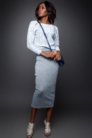 Jadone Fashion: Костюм (блуза и юбка) Лукас М-3 - главное фото