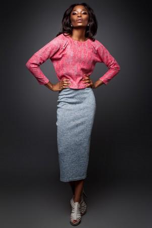 Jadone Fashion: Костюм (блуза и юбка) Лукас М-2 - главное фото