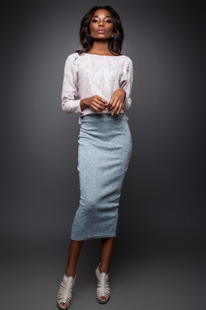Jadone Fashion: Костюм (блуза и юбка) Лукас М-1 - главное фото
