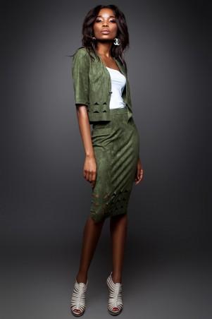 Jadone Fashion: Костюм (жакет и юбка) Грация М-4 - главное фото