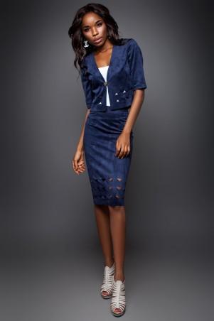 Jadone Fashion: Костюм (жакет и юбка) Грация М-3 - главное фото