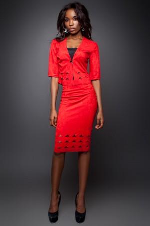 Jadone Fashion: Костюм (жакет и юбка) Грация М-2 - главное фото