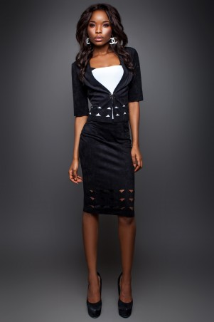 Jadone Fashion: Костюм (жакет и юбка) Грация М-1 - главное фото
