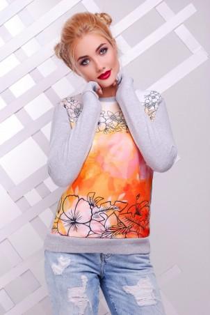 "FashionUp: Свитшот ""Cotton"" KF-1382C - главное фото"
