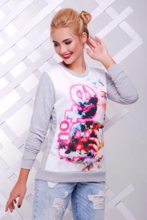 "FashionUp: Свитшот ""Cotton"" KF-1388С - главное фото"