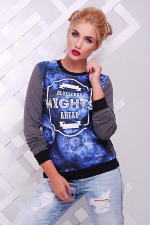 "FashionUp: Свитшот ""Cotton"" KF-1371C - главное фото"