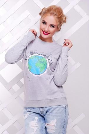 "FashionUp: Свитшот ""Cotton"" KF-1381C - главное фото"