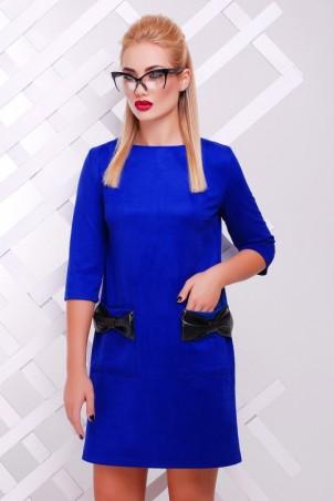 """FashionUp: Платье """"Кожаный Бант"""" PL-1351C1 - главное фото"""