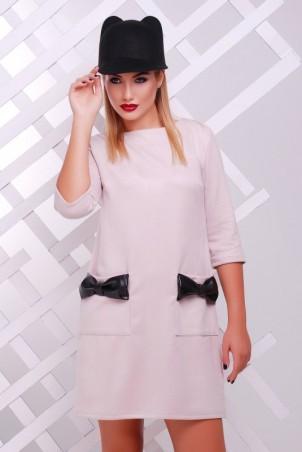 """FashionUp: Платье """"Кожаный Бант"""" PL-1351H1 - главное фото"""