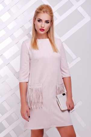 "FashionUp: Платье ""Бахрома"" PL-1359B - главное фото"