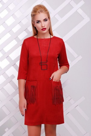 "FashionUp: Платье ""Бахрома"" PL-1359C - главное фото"