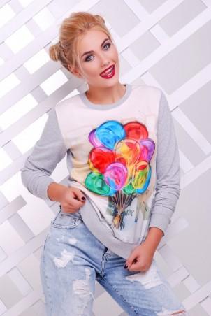 "FashionUp: Свитшот ""Cotton"" KF-1373C - главное фото"