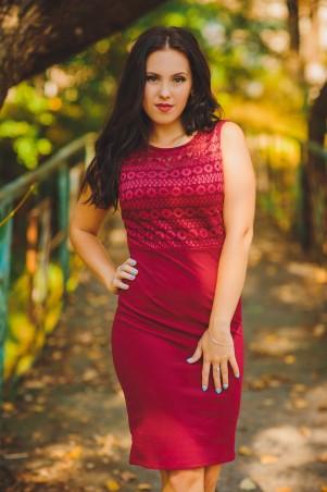 BIBI-Brand: Платье Аврора марсала - главное фото