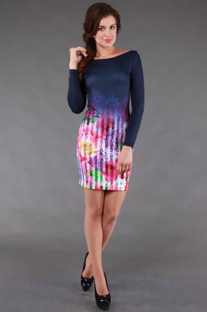Alpama: Платье цветы SO-13100-FLW - главное фото