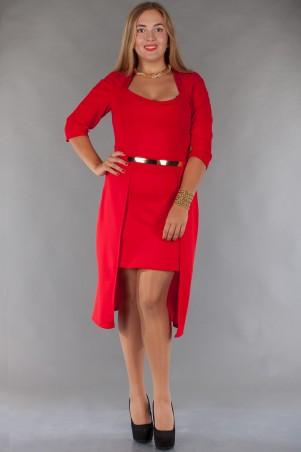Alpama: Платье SO-13072-RED - главное фото