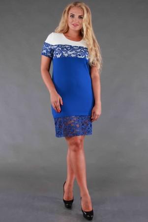 Alpama: Платье электрик SO-13077-ELB SO-13077-ELB - главное фото