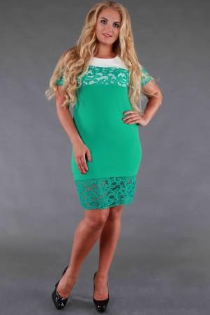 Alpama: Платье SO-13077-TRQ - главное фото