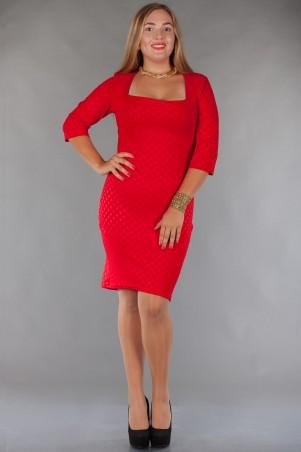 Alpama: Платье SO-13073-RED - главное фото