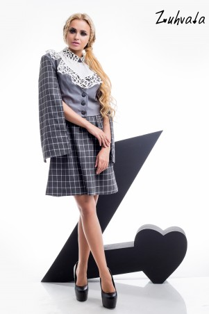 Zuhvala: Комплект(платье+жакет) Кейдж - главное фото