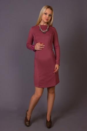 Nowa Ty: Комплект Элегантность (платье и ожерелье с серыми бусинами) 15020112 - главное фото