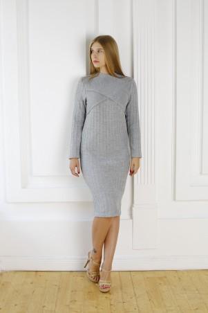 Шатня: Платье в сером цвете Я 1115 - главное фото