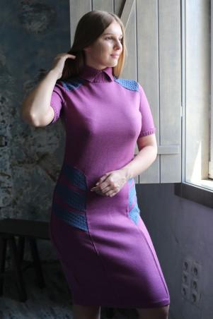 Шатня: Платье с ажурными вставками я1100 - главное фото