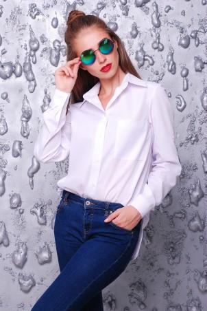 "TessDress: Рубашка в стиле оверсайз ""Kiss"" 5058 - главное фото"