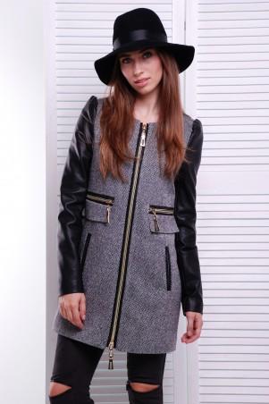 """TessDress: Модное пальто из твида """"Токио"""" 3045 - главное фото"""