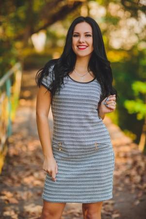 BIBI-Brand: Платье Бонита серый - главное фото