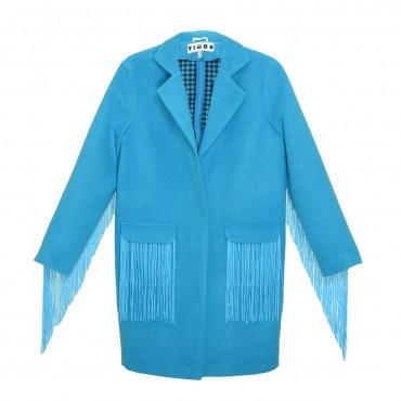 Timbo: Пальто Gven с рюшей Р026701 - главное фото