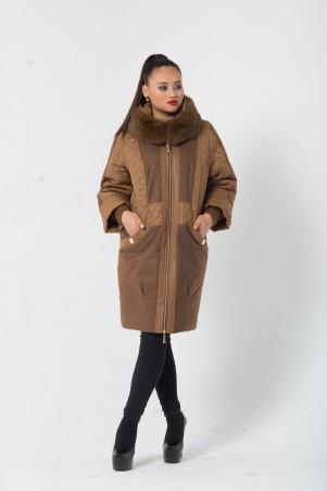 Riches: Комбинированное зимнее пальто 530 - главное фото