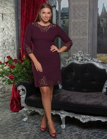 VOKARI: Платье (Plus Size) 1527 - главное фото