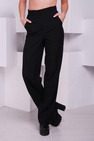 """TessDress: Стильные широкие брюки """"Марлен"""" 2069 - главное фото"""