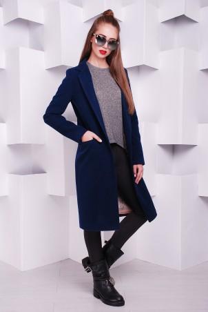 """TessDress: Женское пальто """"Классик"""" blue 3228 - главное фото"""