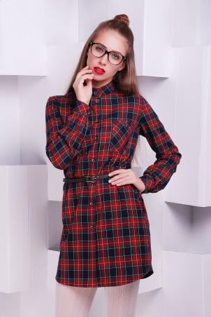 """TessDress: Стильноя платье-рубашка """"Лайт"""" 5061 - главное фото"""