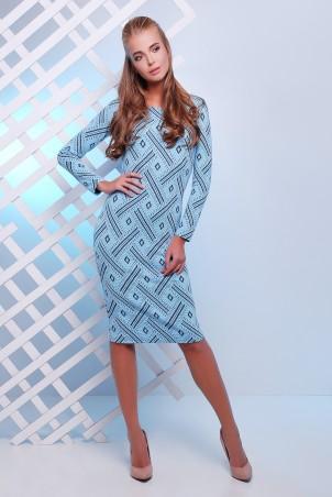 MarSe: Платье 1627 голубой - главное фото