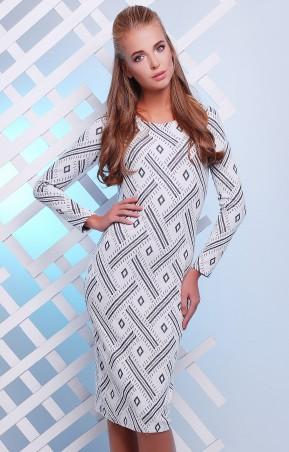 MarSe: Платье 1627 белый - главное фото