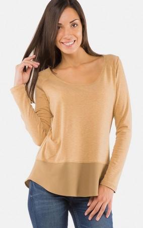 MR520 Women: Однотонная футболка MR 222 2268 0816 Mustard - главное фото
