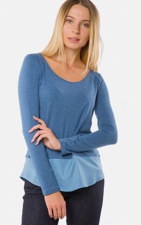 MR520 Women: Однотонная футболка MR 222 2268 0816 Blue - главное фото