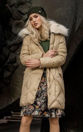 MR520 Women: Куртка зимняя (пуховик) MR 202 2202 0816 Milk - главное фото