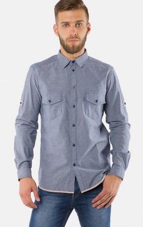 MR520 Men: Рубашка MR 123 1176 0916 Blue - главное фото