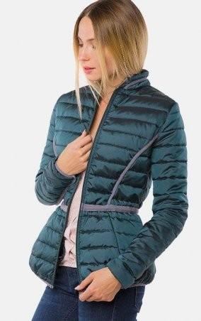 MR520 Women: Утепленная демизезонная куртка MR 202 2229 0916 Green - главное фото