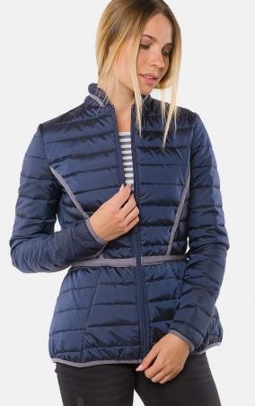 MR520 Women: Утепленная демизезонная куртка MR 202 2229 0916 Dark Blue - главное фото