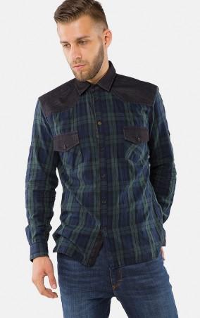 MR520 Men: Рубашка MR 123 1175 0916 Dark Green - главное фото
