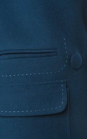 MR520 Women: Шерстяное пальто oversize (оверсайз) MR 220 2276 0816 Blue - главное фото