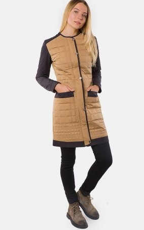MR520 Women: Пальто демизезонное MR 202 2222 0916 Beige - главное фото