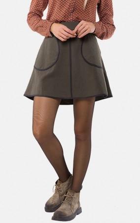 MR520 Women: Широкая юбка MR 214 2269 0916 Khaki - главное фото